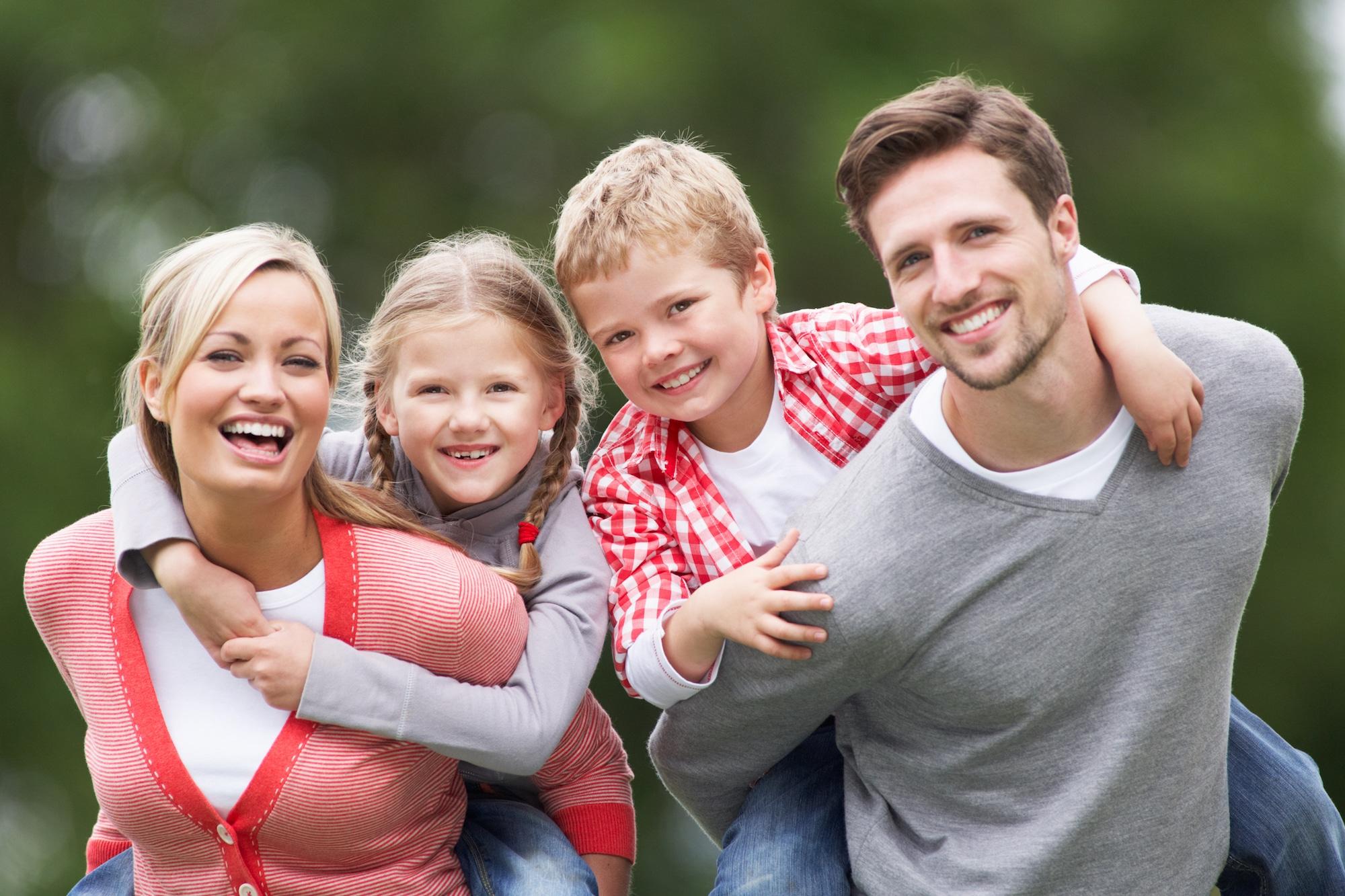 Family Smiling 2000