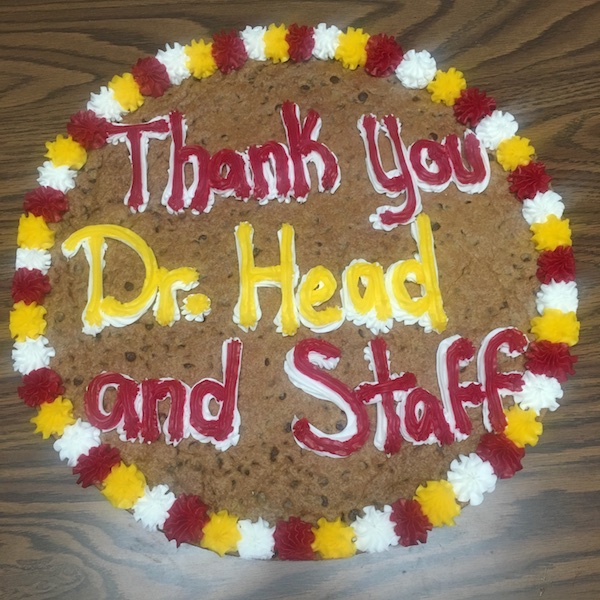 Thank you Dr. Head 11 2018